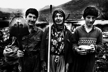 Kurdish charcoal workers. Charcoal production is the primary source of income for the village. One family can produce about 150 kilos per month, which is worth $3 to them. Deforestation is becoming a...