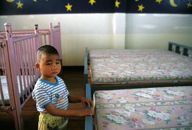 Child in an orphanage.