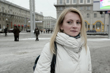 Svetlana Zavadskaya, the wife of ORT journalist Dmitry Zavadsky, who was abducted on July 7th, 2000. Zavadsky is one of four prominent people to have been 'disappeared' in Belarus, in what some claim...