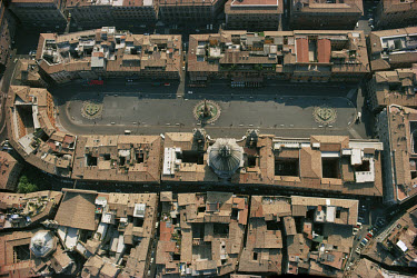 The Piazza Navona in Rome, from AD 86, Italy, 1974. World Heritage Site (83)