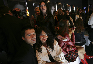 Russia's nouveau riche attend the opening of a Chanel boutique in Moscow.
