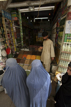 The spice bazaar in Herat's old city.
