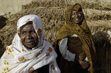 Zainab Juma Nimeir (left) was the first trained midwife in Darfur. She is now retired, but remains an active campaigner for�awareness�regarding the problems surrounding�maternal healthcare.