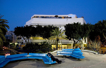 Cinema Esther built in 1940 by architect Genia Averbuch in Dizengoff Circus. 2009 is the city's centenary, and the Bauhaus inspired architecture of the city will be one of the focus points of the cele...