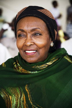 Edna Adan Ismail, the founder of the Edna Adan Maternity Hospital in Hargeisa.