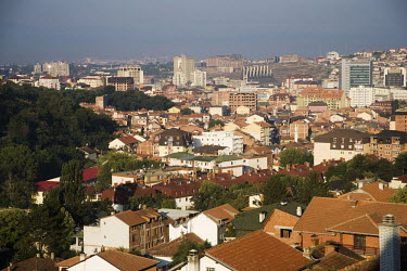 A view of the centre of Pristina.