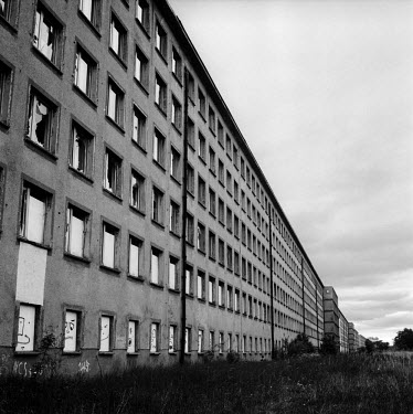 A derelict building which was part of a vast leisure complex built between 1935 and 1939 for the Nazi 'Kraft durch Freude' (Strength through Joy) project for Germany's workers. It could accommodate up...