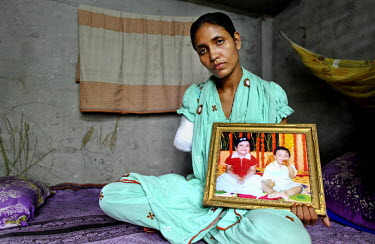 27 year old former textile worker Marium lost her lower right arm when she was trapped in the collapsed Rana Plaza complex for two days and one night. She worked on the 6th floor of the complex where...