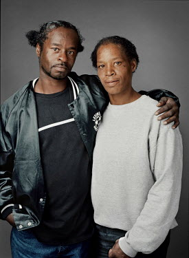 Alvin (b. Richland Co, SC, 1966) and his wife Valerie (b. Long Island, NY, 1969), homeless people.