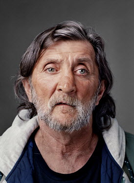Mo, a homeless man. (b. 'The Yukon', AK, 1951).