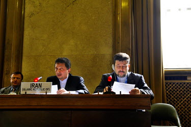Ambassador Sajjadi addresses the Conference on Disarmament prior to the Iranian Presidency, that 'the Islamic Republic of Iran as a space-faring nation has consistantly supported the prevention of an...
