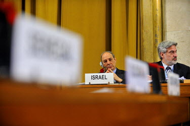 Isreali diplomats at the Conference on Disarmament. Along with North Korea, India and Pakistan it is one of four non-recognised nuclear-armed states. One of the major barriers to any agreement on a Mi...