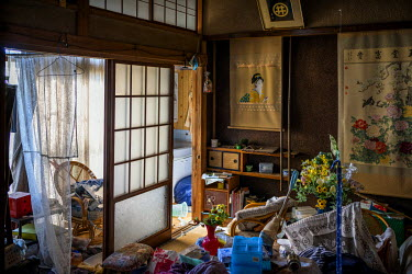 An abandoned house in Namie, a town of 19,000 evacuated following the Fukushima Daiichi nuclear power plant disaster.  On 11 March 2011 a magnitude 9 earthquake struck 130 km off the coast of Northern...