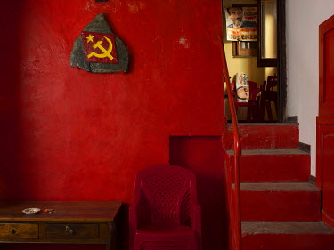 The offices of the Communist Refoundation Party's (PRC) Che Guevara office.