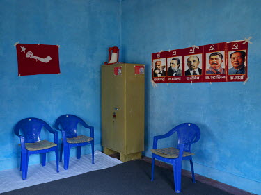 The Communist Party of Nepal (Revolutionary Maoist), aka CPN-Maoist (Baidya) district office.