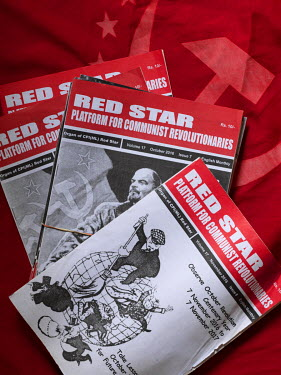 Red Star, the CPI(ML) party magazine.