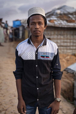 Rohingya refugee Nurul Amin (19) says he is desperate for an education and so is learning English from a private tutor and via three hours a day on the internet. He subscribes to a YouTube channel tha...