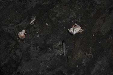 Bloodied tissues and a used needle lie on the floor of a place known as a safe place in the city centre for homeless drug addicts to take heroin. Statistics released in July 2019 show that Scotland's...