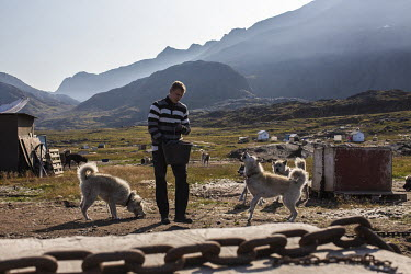 Kasper Bro Rasmussen, a Danish referee who lives full-time in Sisimiut where he works as the hospital physiotherapist, feeding his sled dogs in 'Dog City' just outside the town. This is the furthest s...