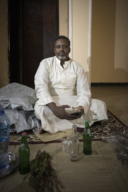 Idriss Aden, who exports up to 1500 kgs of qat a day from Dire Dawa to Djibouti through a Djiboutian relay company, the Sodjik. ''Khat is not dangerous'', he says, flippantly, ''the people there [UK,...