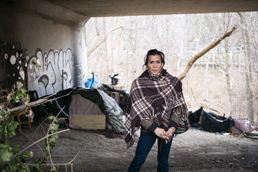 Sabrina Sese (42) sleeps under a TTC tunnel in the Rosedale Valley ravine: ''I went to jail in 2014, and when I got out, I went to the shelters. Sometimes I was lucky and got a private room, but more...