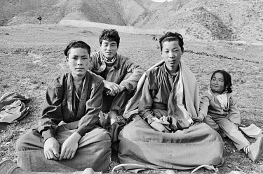 Two Tibetan Buddhist monks and friends.