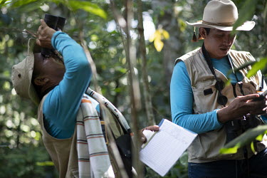 'Forest Guardians', a volunteer collective of local residents, farmers and concerned inhabitants, financed by overseas aid and administered by the WWF, aim to monitor wildlife and rare trees in the ra...