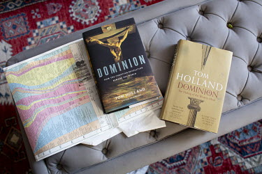 Author and historian Tom Holland who has a new book out, Dominion, about how Christianity has shaped the Western world.