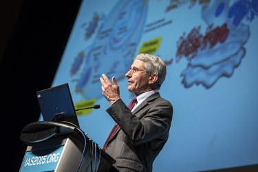 Anthony Fauci, Director of the National Institute of Allergy and Infectious Diseases at the National Institutes of Health (USA), speaking at the 8th International AIDS Society (IAS) Conference on HIV...
