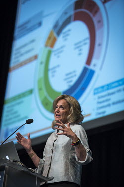 Ambassador Deborah Birx, US Global AIDS Coordinator & US Special Representative for Global Health Diplomacy, speaking at the President's Emergency Plan For AIDS Relief (PEPFAR) Annual Meeting at the 2...