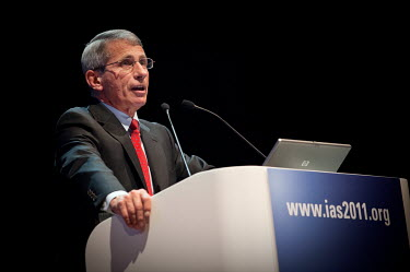 Anthony Fauci, Director of the National Institute of Allergy and Infectious Diseases at the National Institutes of Health (USA), speaking at the 6th International AIDS Society (IAS) Conference on HIV...