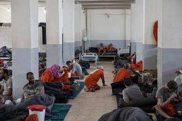 Suspected ISIS members, many of them badly injured from the final months of battle earlier in 2019, languish inside a large crowded cell at a prison controlled by Kurdish forces in northeast Syria.