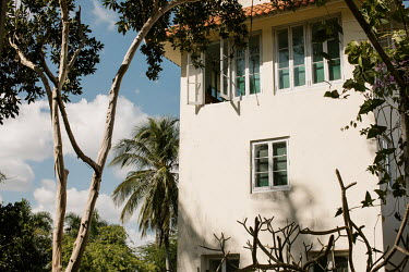 Finca Vigia, once Ernest Hemingway's home where he lived with Martha Gellhorn, now a museum.