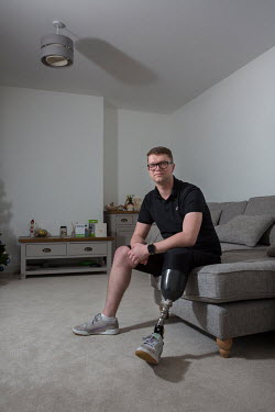Tom Dorman, a Thames Valley Police Officer, who lost a leg when hit by a car driven by a young man who had been drinking and using drugs. Dorman is back working with the police.