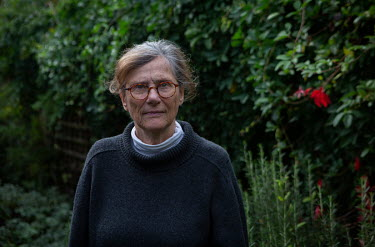 Writer and academic Hermione Lee at her home in Oxford.