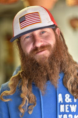 Michael Miller (37), a thrift shop (second hand) owner from Fulton County who says he was a Donald Trump supporter but will not vote in the 2020 presidential election.