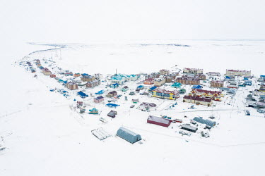 Panaevsk, a Nenets settlement in the tundra situated on the banks of the Ob River.