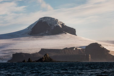 Greenwich Island, in the South Shetland Islands.  The Greenpeace ship MY Esperanza is on the final leg of the pole to pole voyage from the Arctic to the Antarctic. The almost year-long voyage is one...