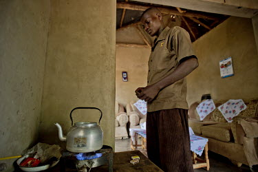 In Kayounga district, 60 kilometres from Kampala, a young man heats a kettle of water on a gas fuelled stove. It is supplied by gas produced from animal dung in a fermentation tank in the yard of the...