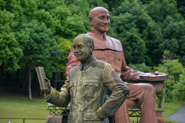 The Cihu Chiang Kai-shek Memorial Sculpture Garden. A total 152 statues of the former president of the ROC (Republic of China), Dr. Sun Yat-sen and Chiang Kai-shek's son, former Taiwan President Chian...