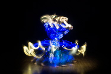 Bhangra dancer Hardeep Sahota and photographer Tim Smith have collaborated with dancers from different disciplines to create a series of images that they describe as ''giving vibrant sculptural form t...