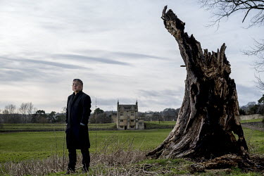 Author Kazuo Ishiguro photographed in Chipping Campden.