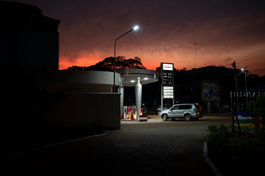 A Tradex petrol station.