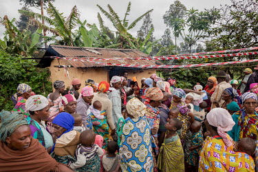 People gathering for porridge, which is a free service that's being put on by Antionette, an accountancy graduate, who was inspired to start the clubs when she saw that children and elderly people wer...