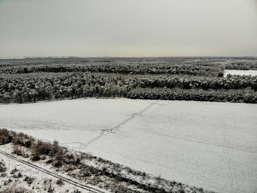Winter fields and a recreational area in the municipality of Stara Lysa which received a state subsidy from an EU Fund under the Operational Program Environment for the project 'Wetland' in 2009. 85%...