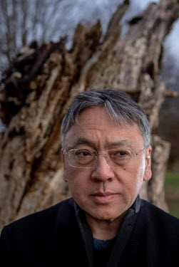 Author Kazuo Ishiguro in Chipping Campden.