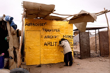 A stall at the Tagharaba gold mine.