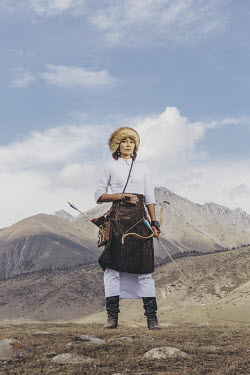 Eliza Tynalieva competed in the women's traditional archery tournament for Kyrgyzstan's national team at the World Nomad Games. She was inspired to join the games by her grandfather, a WWII veteran wh...