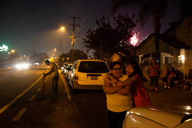 Rosa Barrientos and her family celebrate 4th of July.  Rosa Barrientos, 26, migrated with her family from Guanajuato, Mexico to the U.S. when she was four years old. She never talked with her parents...
