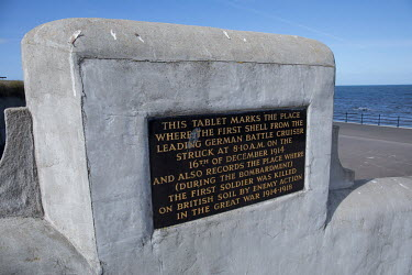 A memorial tablet on the Headland marks where the first British soldier was killed on British soil during WW1 by shelling from a German battleship.   Hartlepool has always voted Labour, including in t...
